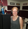 Katie Naugle in the Studio